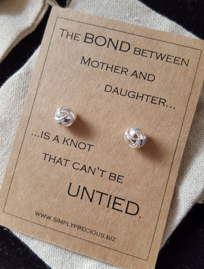Mother Daughter Bond Earrings